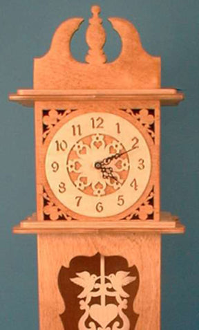 Cased Pendulum Clock Patterns