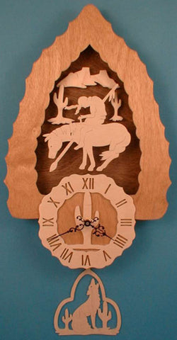 3D Southwestern Pendulum Clock Patterns