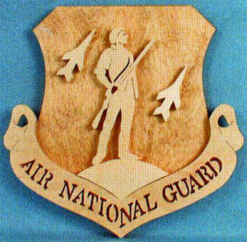 Air National Guard Honor Display Pattern - scroll saw patterns and projects