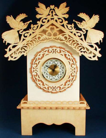 Angelic Mantle Clock Patterns