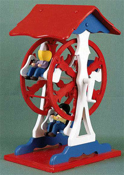 Animated Ferris Wheel Toy Pattern - scroll saw patterns and projects