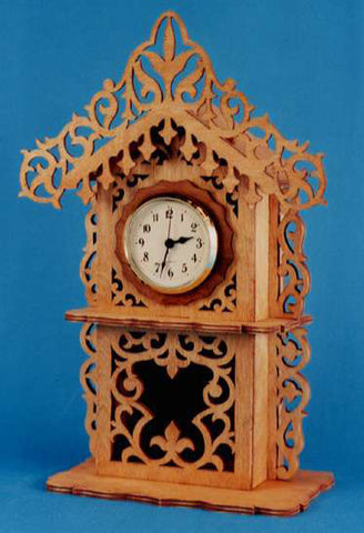 Classic Bavarian Mantle Clock Pattern