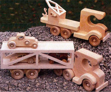 Car Carrier & Wrecker Patterns - scroll saw patterns and projects