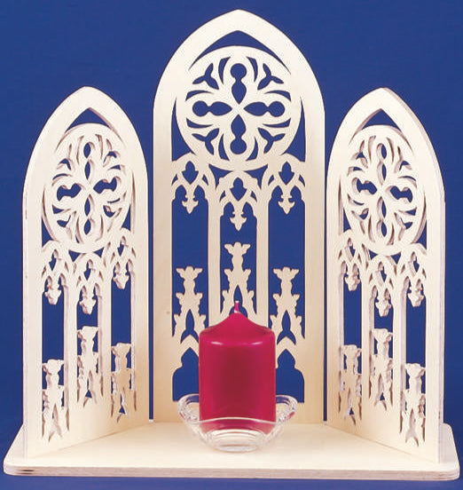 Cathedral Candle Display Pattern