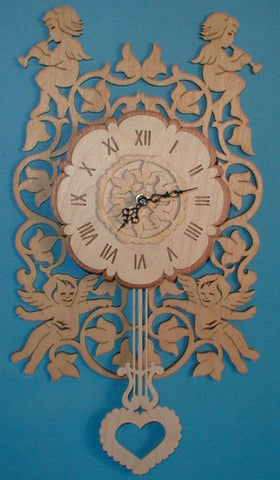 Cherub Pendulum Clock Patterns