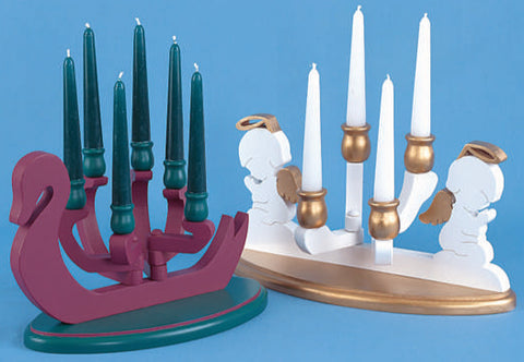 Christmas Candle Holder Patterns
