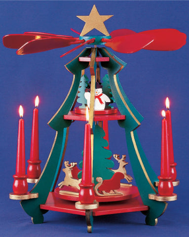 Candle Powered Carousel Pattern