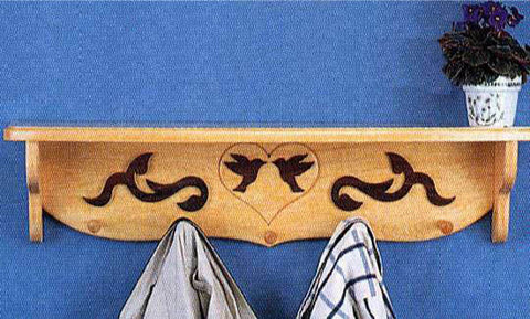 Country Coat Rack Patterns