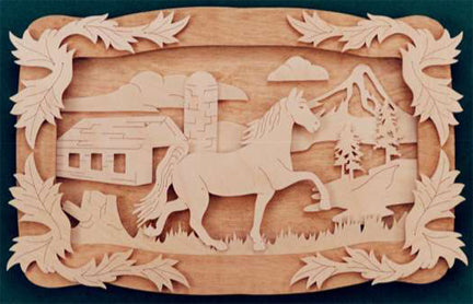 Country Horse Homage Fretwork Patterns