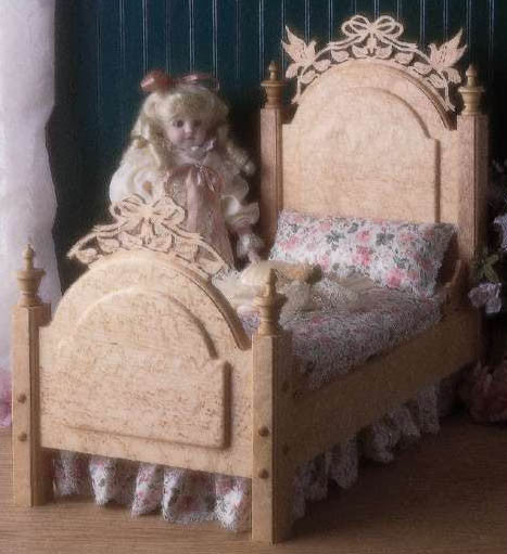 Victorian Doll Bed Patterns - Scrollsaw.com
