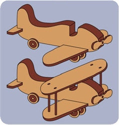 Toy Plane & Bi-Plane Patterns - scroll saw patterns and projects