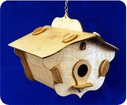 No Fastners Birdhouse Patterns - scroll saw patterns and projects