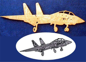 F-14A Tomcat Scroll Saw Pattern - scroll saw patterns and projects