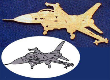 F-16 Scrollsaw Pattern - scroll saw patterns and projects