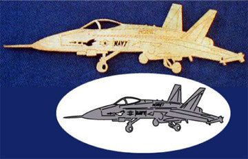 F-18 Hornet Scroll Saw Pattern - scroll saw patterns and projects