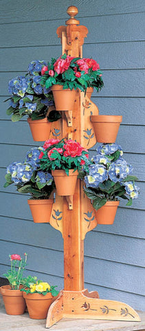Flower Pot Tree Patterns with 3 Design Options