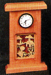 Garden Girl Mini Clock Patterns