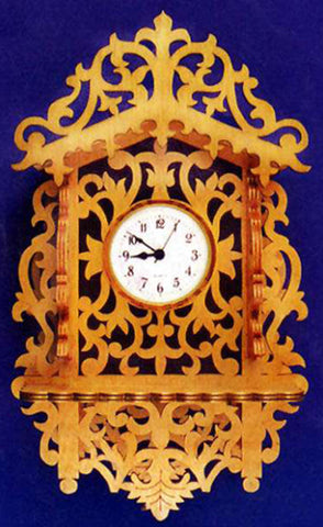 Lacy Swiss Wall Clock Patterns