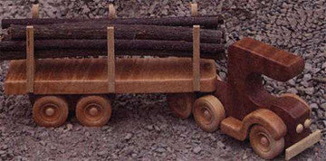 Log Truck Patterns - scroll saw patterns and projects