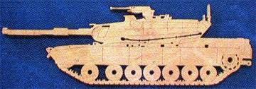 M1 Abrams Battle Tank Scroll Saw Pattern - scroll saw patterns and projects