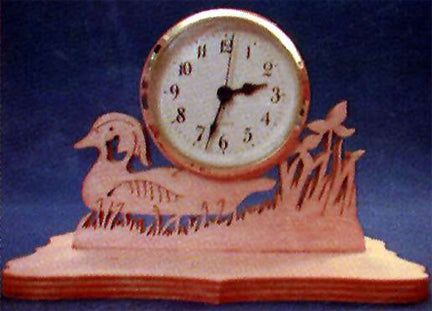 Lazy Mallard Desk Clock Patterns