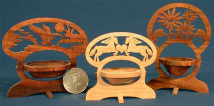 Basket Project Patterns for the Scroll Saw