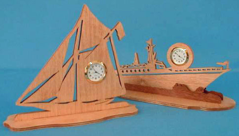 Boating, Nautical Mini Clock Pattern Set