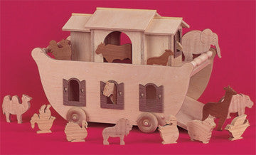 Noah's Ark Playset Patterns - scroll saw patterns and projects
