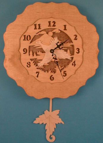 Pheasant Pendulum Clock Patterns