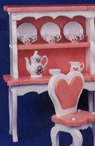 Princess Doll Hutch Patterns - scroll saw patterns and projects