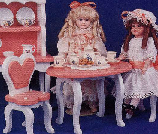 Princess Table & Chair Patterns - scroll saw patterns and projects