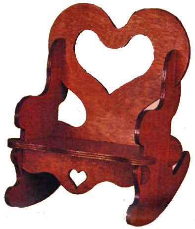 Puzzle Country Rocking Chair Patterns - scroll saw patterns and projects