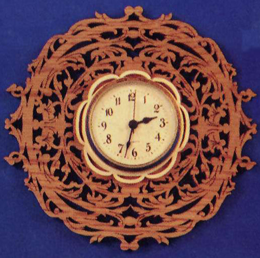 Victorian Round Wall Clock Patterns