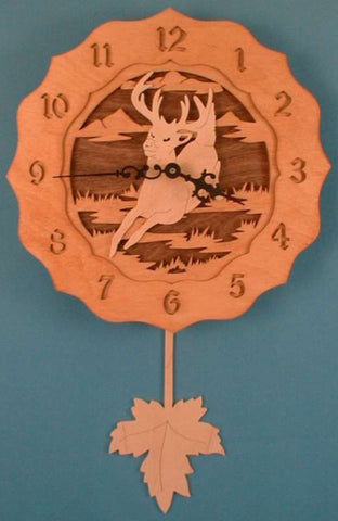Running Buck Pendulum Clock Patterns