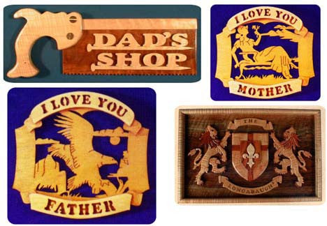 24 Desk & Wall Plaque Patterns by Mail