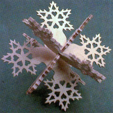 3D Snowflake Patterns