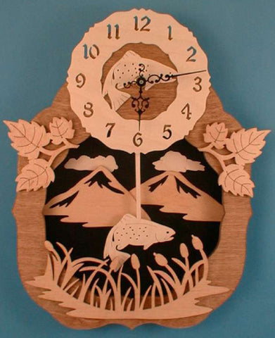 Trout Mountain Pendulum Clock Patterns