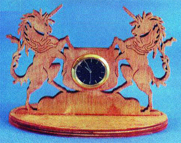 Magestic Unicorn Desk Clock Patterns