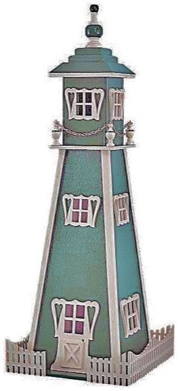 Downloadable Victorian Lighthouse Plan - scroll saw patterns and projects