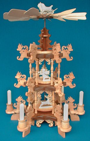 Victorian Candle Carousel Patterns