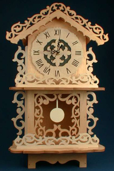 Easy Victorian Pendulum Mantle Clock Patterns