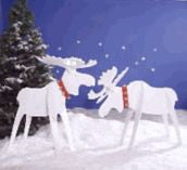 Christmas Moose Woodworking Patterns - scroll saw patterns and projects