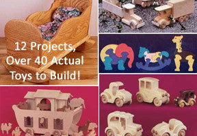 Heirloom Wooden Toys Value Pack on Wooden USB - scroll saw patterns and projects
