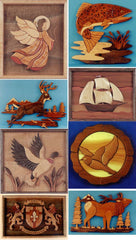 Scroll saw patterns for intarsia
