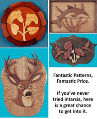 Intarsia Scroll Saw Patterns Collection by Mail