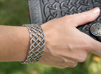 Bracelets | Hand Cast Britannia Metal and Leather