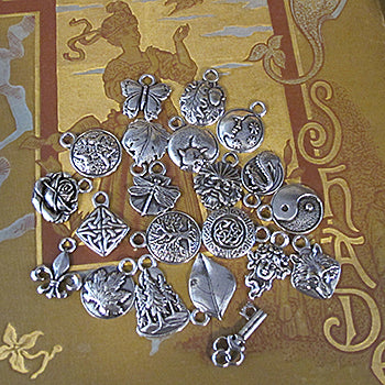 Oberon Design Hand Cast Britannia Metal Charms