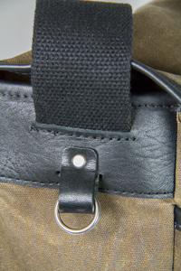 Crosstown Messenger Bag Detail