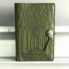 Avenue of Trees Large Leather Journal by Oberon Design