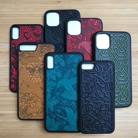 Leather iPhone Cases by Oberon Design